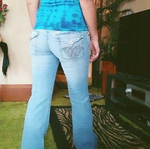 LEI wide leg jeans